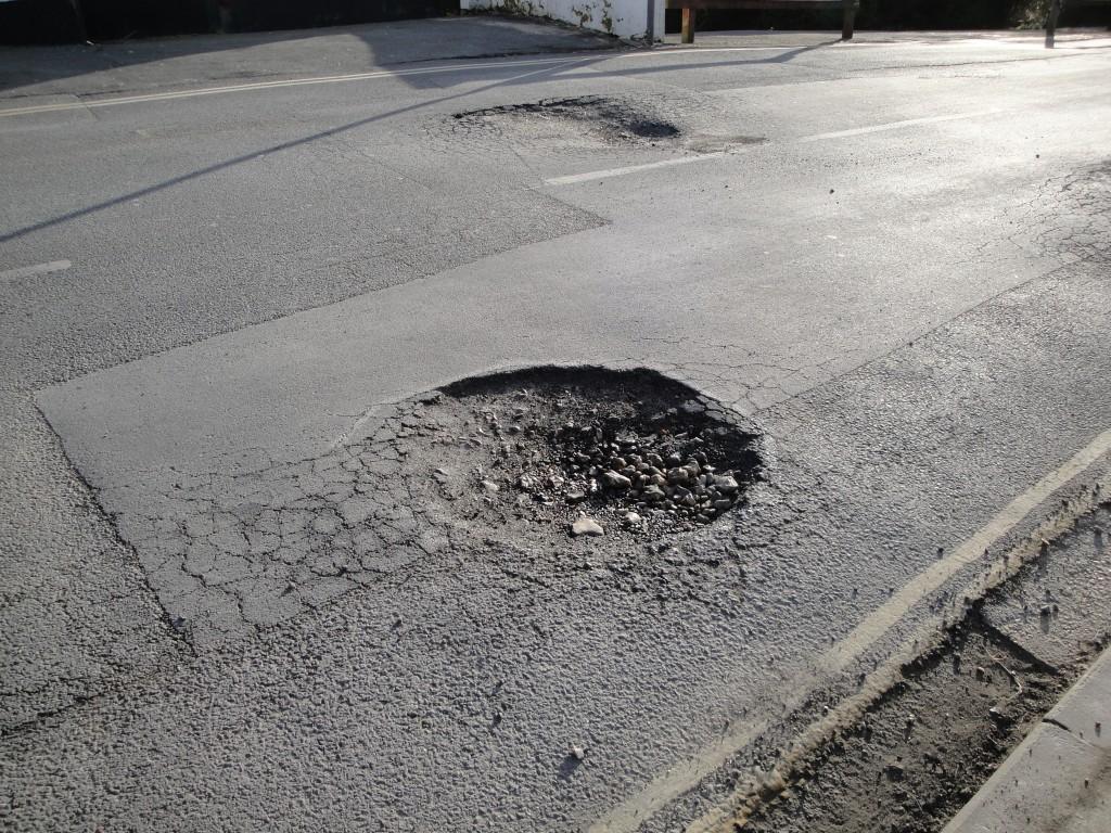 halifax pothole